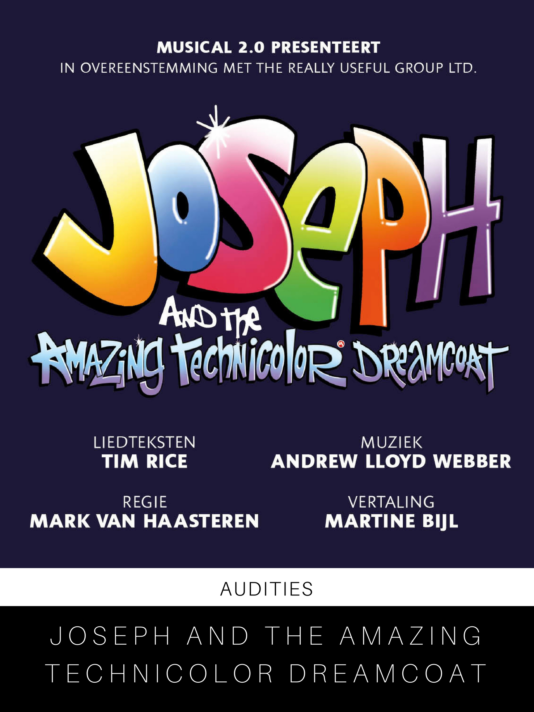 Audities - Joseph and the Amazing Technicolor Dreamcoat